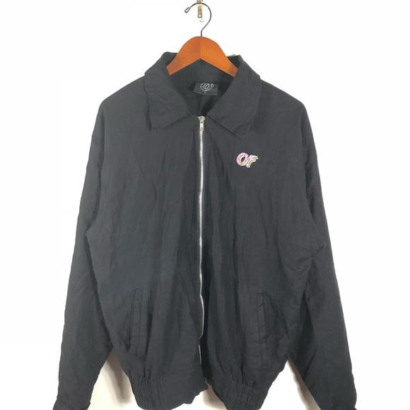 d79f3c2ebb8b Odd Future OFWGKTA Coaches Jacket Windbreaker. M 5baabce6df030757a63ca00c
